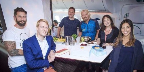 A 24-year-old entrepreneur spent 4 days with Richard Branson — here's what she learned from him