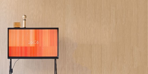 This is the most beautifully designed TV we've ever seen