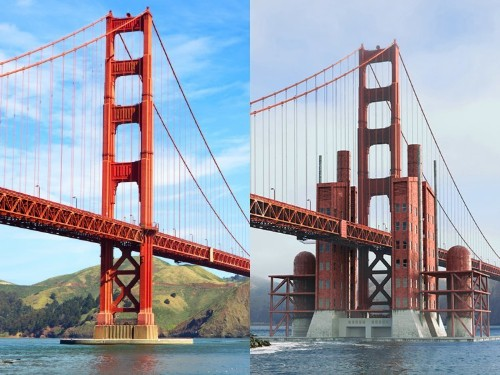 What major US cities could have looked like based on old designs