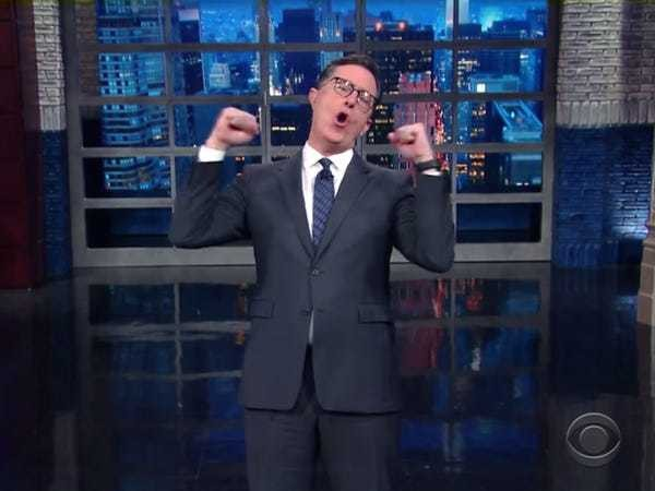 Stephen Colbert: Trump is already breaking his 'strangest and strongest' promise - Business Insider