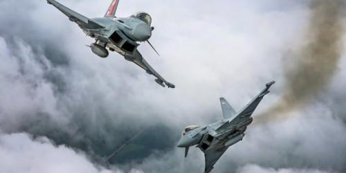 RAF jets escort Jet2 flight back to Stansted after mid-air fracas
