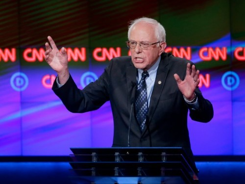 BERNIE: These GOP debates show 'why we need to invest in mental health'