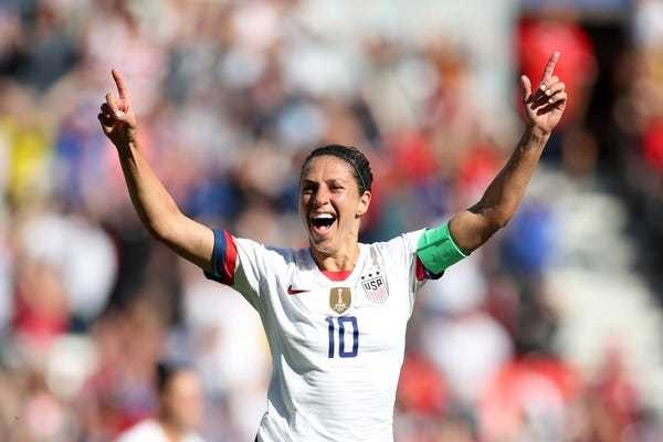 Carli Lloyd says NFL teams contacted her after her 55-yard field goal - Business Insider