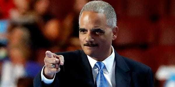 Eric Holder calls Barr 'unfit' to hold office in Washington Post op-ed - Business Insider