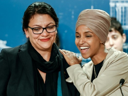 Rashida Tlaib, Ilhan Omar, and controversial Palestinian group Miftah