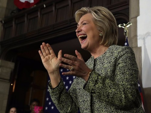 HILLARY CLINTON: 'Today was a victory for all Americans'