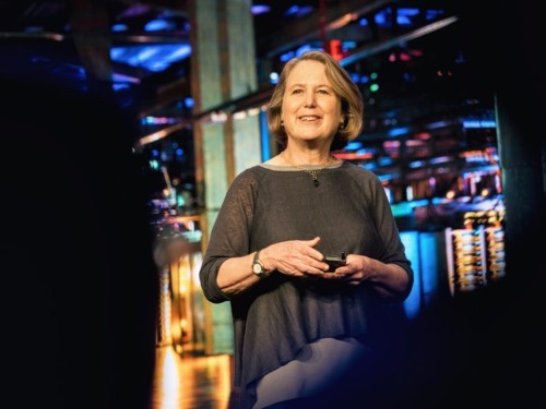 How the queen of Silicon Valley is helping Google go after Amazon's most profitable business