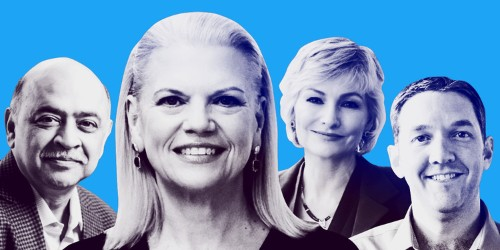 Meet the 14 IBM execs helping CEO Ginni Rometty's cloud strategy