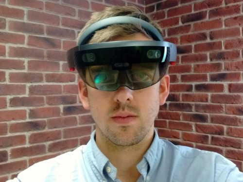 Microsoft's futuristic HoloLens headset is one of the wildest bits of tech I've ever experienced