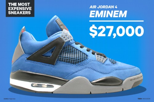 The 17 most expensive sneakers in history