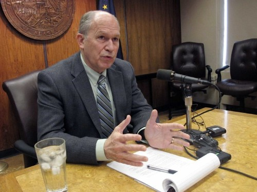 Alaska's governor hands out 10,000 layoff notes and warns of a potential government shutdown