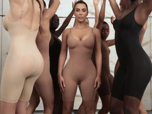 Kim Kardashian fan suggested name SKIM for her shapewear line SKIMS