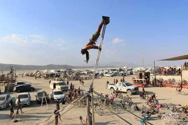 What it's like to visit Burning Man for the first time - Business Insider