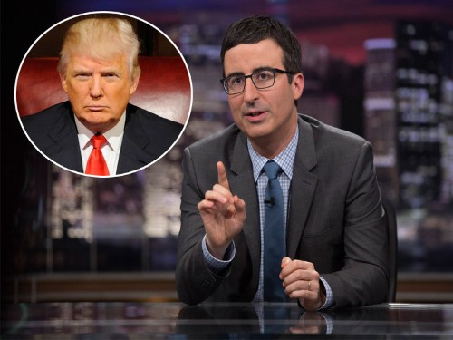 Donald Trump and John Oliver fought it out on Twitter over the weekend