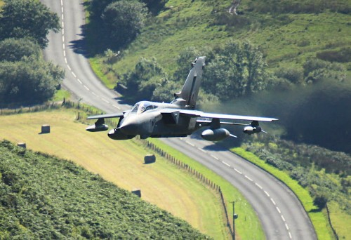 Intense pictures from the Mach Loop, where fighter jet training is a spectator sport
