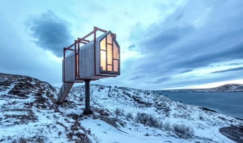 An island of tiny homes in Norway is available to rent for $3,500 a week. People call it a 'slice of heaven.'