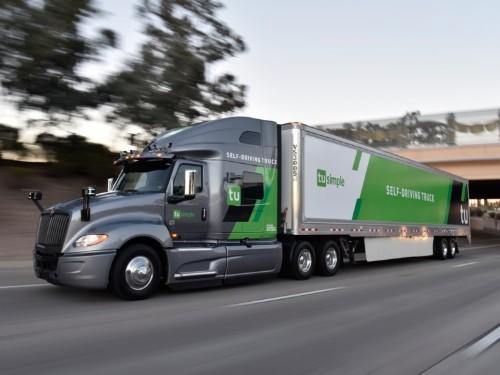 UPS-backed autonomous truck startup TuSimple just raised $120 million