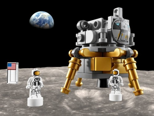 Lego just launched a giant Apollo Saturn V moon rocket set that comes with 1,969 pieces