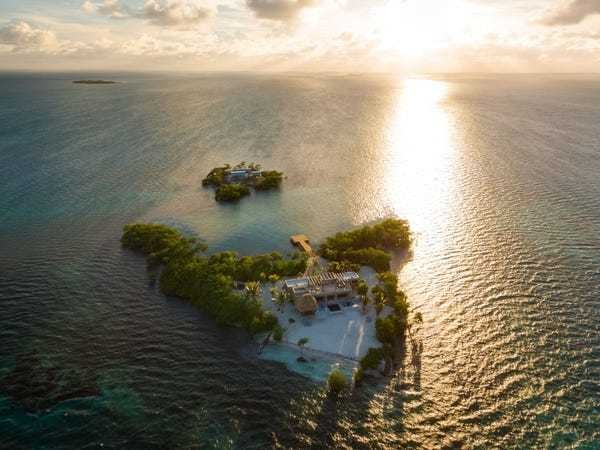 You could rent an entire island that doesn't even have staff on site - Business Insider