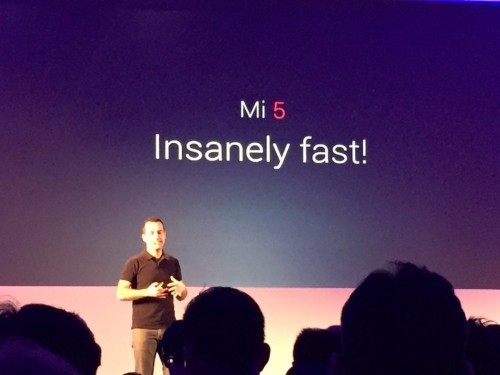 Chinese smartphone maker Xiaomi showed off by comparing its new smartphone to the iPhone
