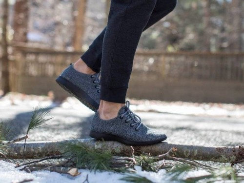 Here's why your next pair of sneakers may be made out of wool