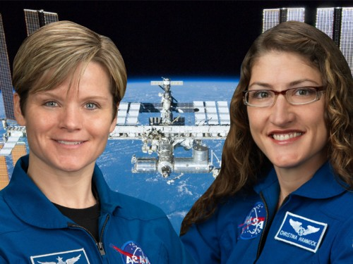 NASA had to cancel the first all-female spacewalk in history because it didn't have spacesuits in the right size