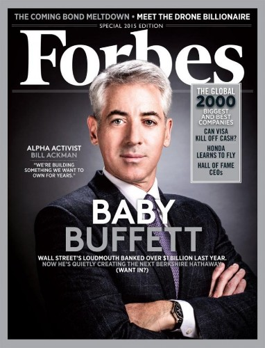 Forbes thinks Bill Ackman might be the next Warren Buffett