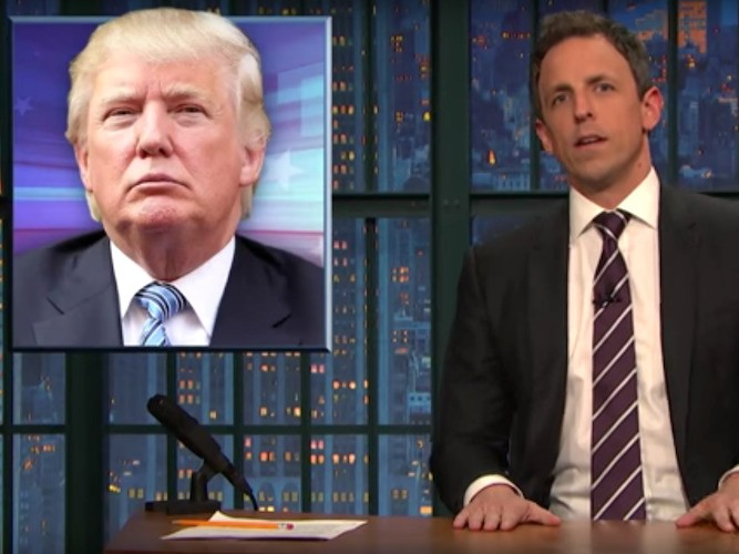 Seth Meyers shreds Donald Trump: He's no longer funny, he's dangerous