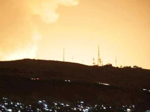 Israel's Huge Airstrike On Damascus Is As Much About Iran As It Is Syria