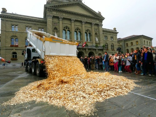 Switzerland's central bank lost $51 billion and the franc is getting hammered
