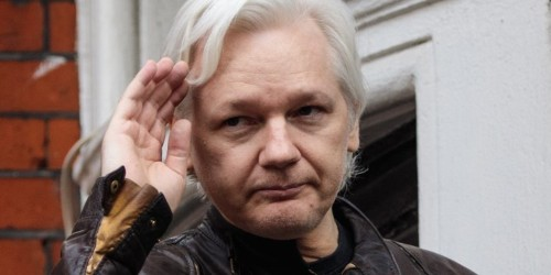Ecuador has cut off Julian Assange's internet connection in its London embassy over a tweet