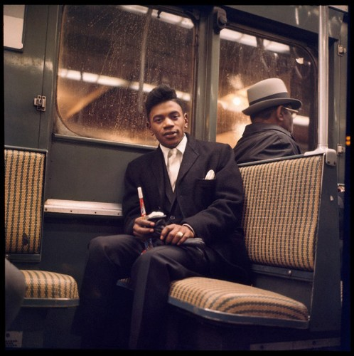 Vintage Photos Show New York City Commuters In 1966