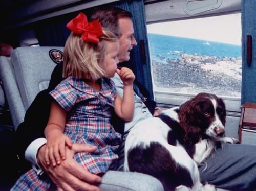 International Dog Day: George H.W. Bush told staff don't feed obese dog