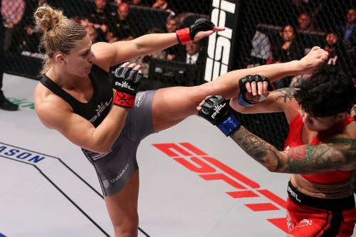 Kayla Harrison says Ronda Rousey comparison is unfair as she's better