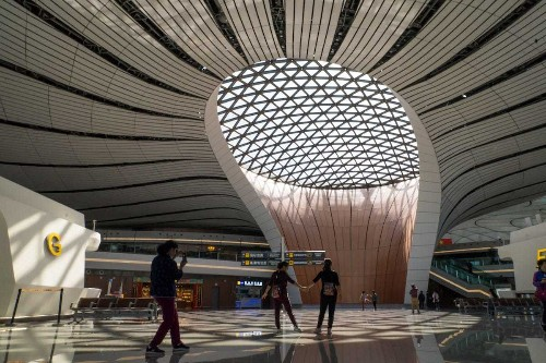 Beijing Daxing Airport: Photos inside futuristic new terminal - Business Insider