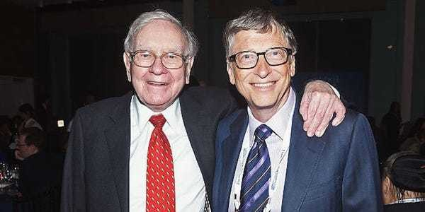 Warren Buffett tried to persuade Bill Gates to spend $370 million on an engagement ring - Business Insider