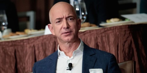 Trump picks the 'Fake News Washington Post' as the newest target in his war against Amazon and Jeff Bezos