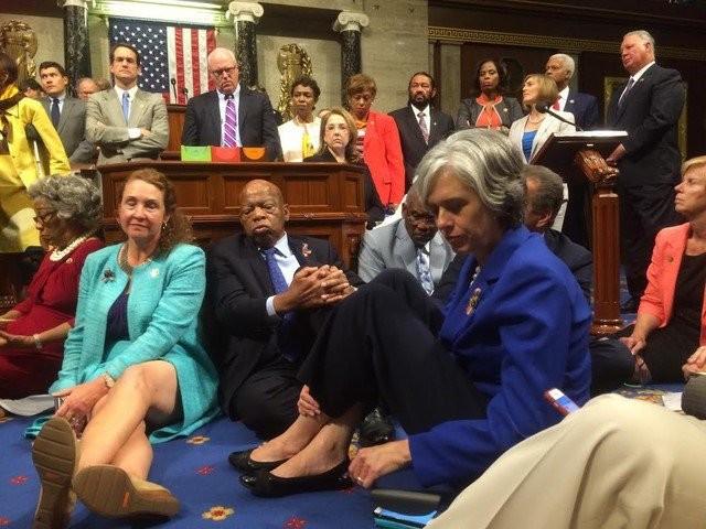Paul Ryan calls Democrats' gun control sit-in a 'publicity stunt'