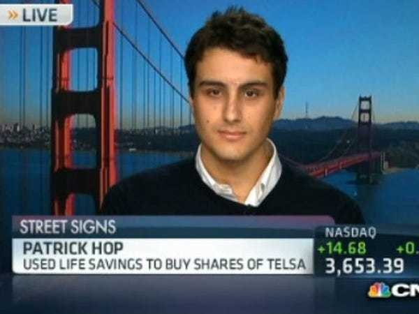 College Student Put His Life Savings Into Tesla, Made A Killing - Business Insider