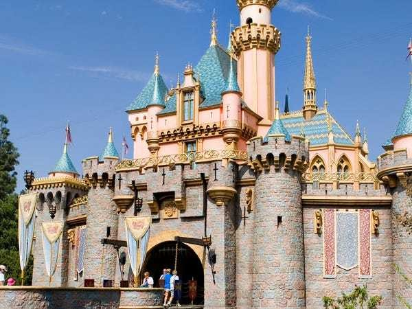 Service dogs take a trip to Disneyland - Business Insider