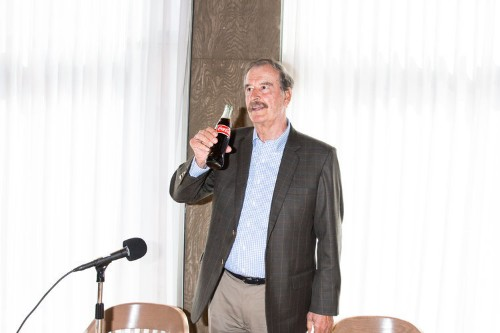 Vicente Fox: How he went from Coca-Cola truck driver to president