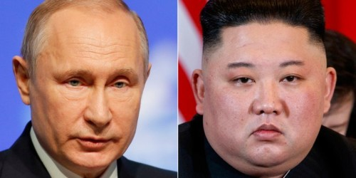North Korean leader Kim Jong Un crossed the border into Russia on his armored train ahead of a meeting with Putin