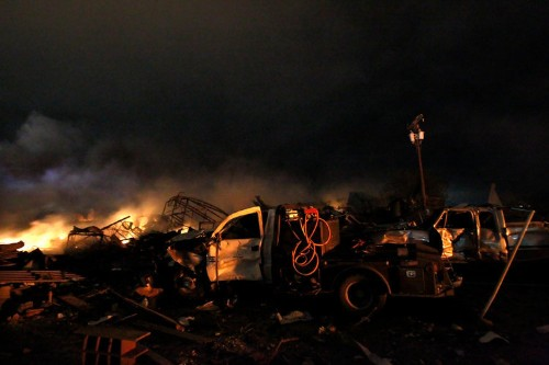 Staggering Pictures Of Damage From The West, Texas Explosion
