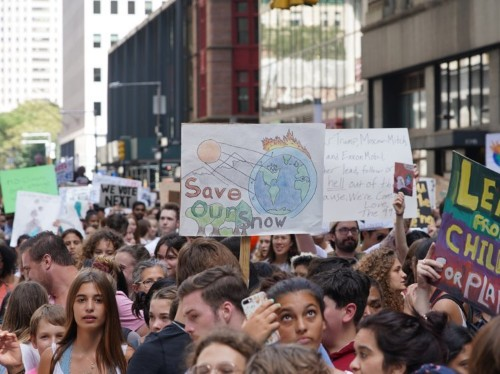 The most creative signs from New York's Global Climate Strike have one message in common: Time's running out
