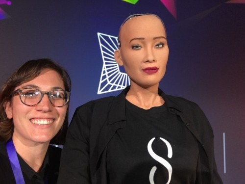 I met Sophia, the world's first robot citizen, and the way it said goodbye nearly broke my heart