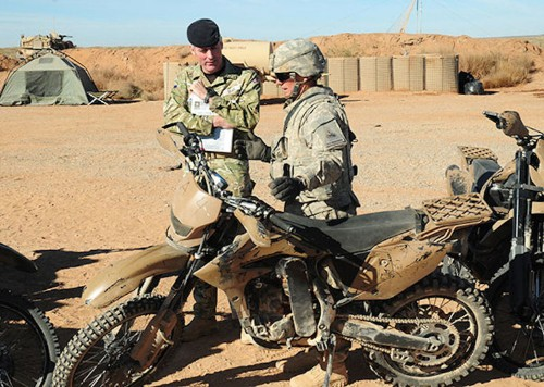 Here's the motorcycle of choice for special operators