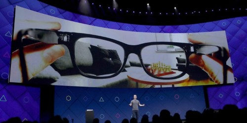 Facebook has partnered with Ray-Ban's parent company to create its 'Orion' AR glasses