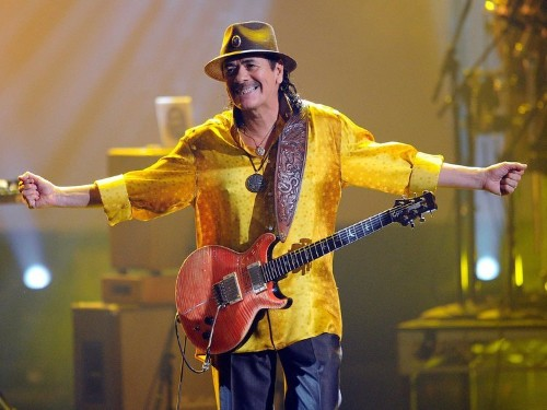 These are the 7 songs musician Carlos Santana wants to hear in every elevator and mall