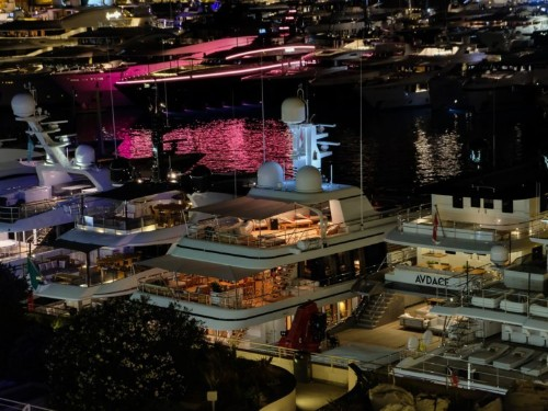 Inside an exclusive gala for VIP yacht buyers at the Monaco Yacht Show