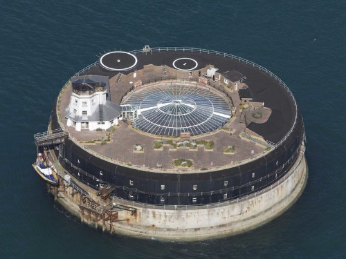 This 19th-century sea fort has been converted into a luxury hotel – complete with a nightclub, a mall, and even a laser tag arena